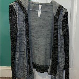 Jessica Simpson hooded cardigan
